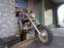 Barnaul biker bar.