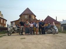 Nik and Anna's family Yakutsk