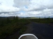 Old summer road track