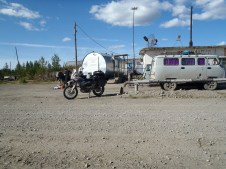 Tomtor fuel station