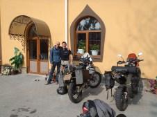 Kiev hotel owner and Kev,