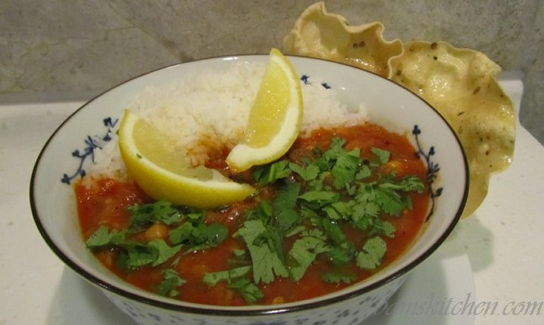 Moroccan Mambo Lamb and chickpea stew