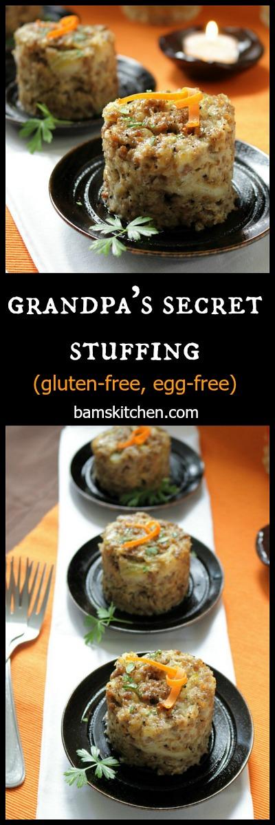 Grandpas Secret Stuffing / http;//bamskitchen.com