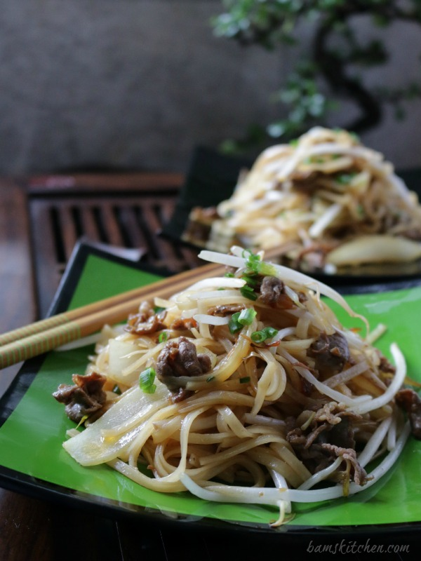 Beef Noodles and Spicy XO Sauce / http://bamskitchen.com