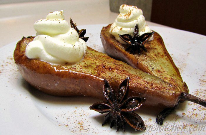Asian Spiced Pears - Bam's Kitchen