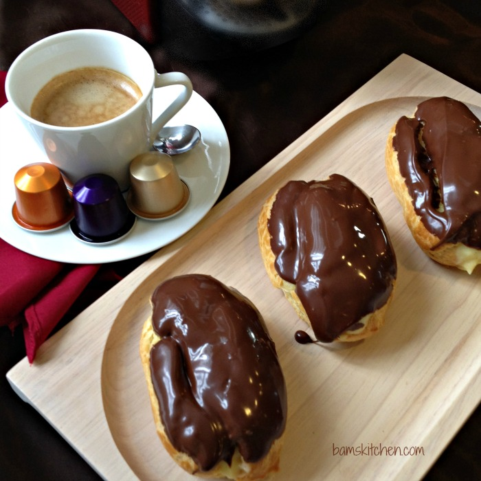 Chocolate French Eclairs with Cinnamon Cream_IMG_5058