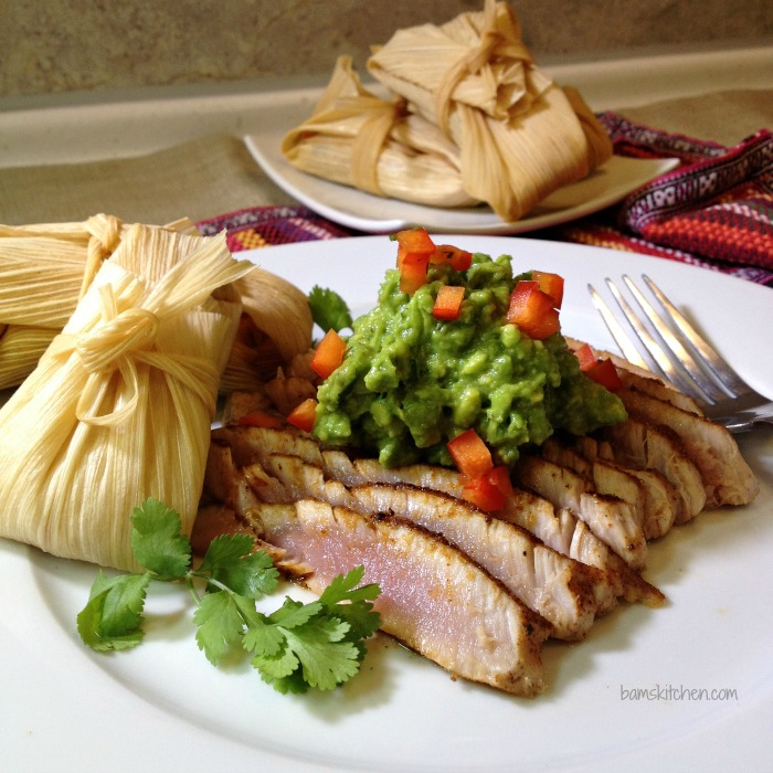 TEX MEX AHI with Cheesy Rice Tamales_IMG_4661