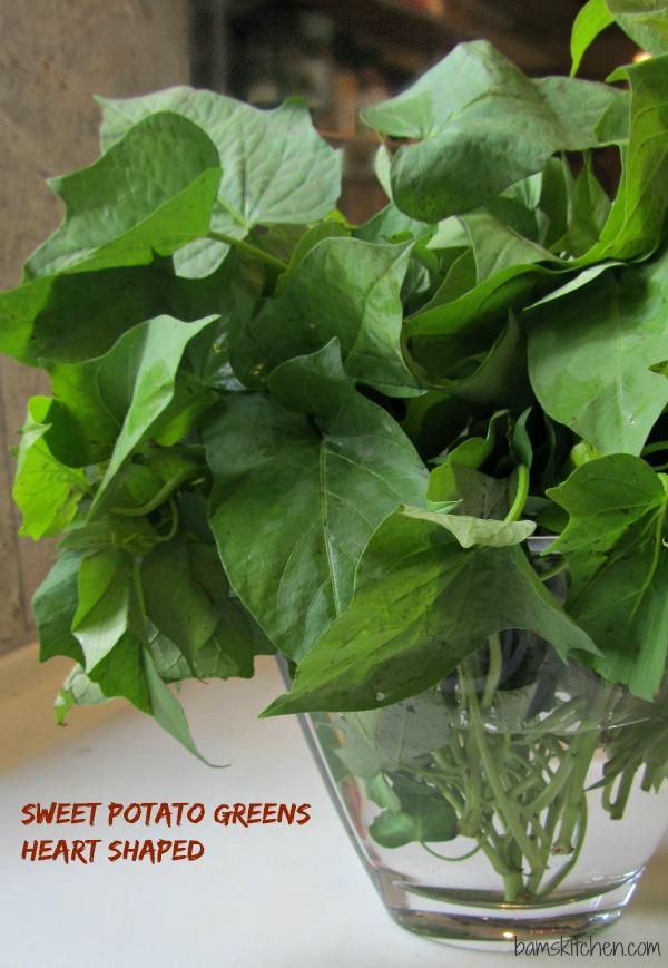 Sweet Potato Greens Heart shaped_IMG_9068