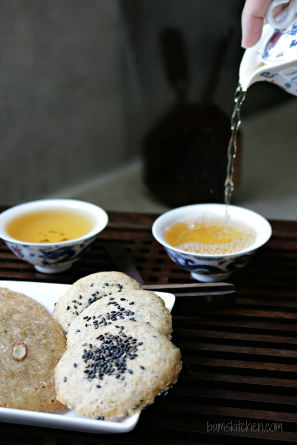 Chewy Black Sesame Cookies_Bams' Kitchen