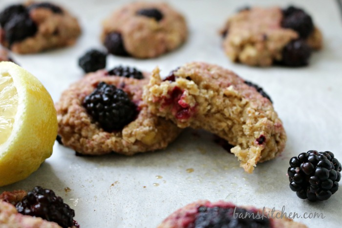 Blackberry Lemon Drop Biscuits-Bam's Kitchen