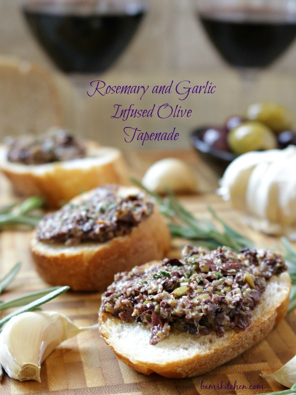 Rosemary Olive Tapenade - Bam's Kitchen