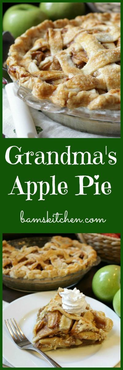 Grandmas Apple Pie / http://bamskitchen.com