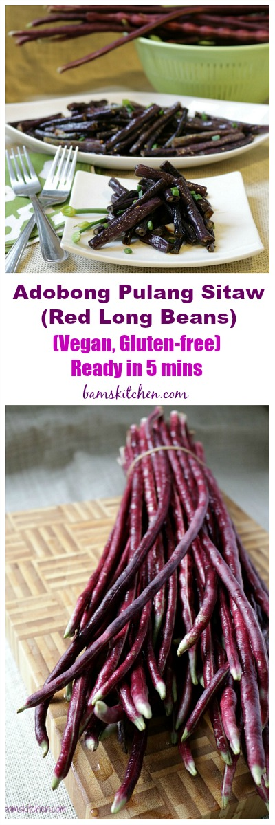 Red Long Beans / http://bamskitchen.com