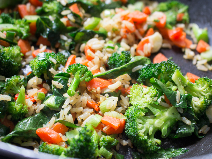 Vegan Curried Rice / http://bamskitchen.com