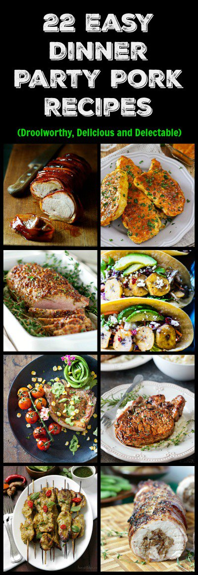 22 Easy Dinner Party Pork Recipes / http://bamskitchen.com