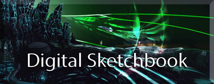 the old school digital sketchbook