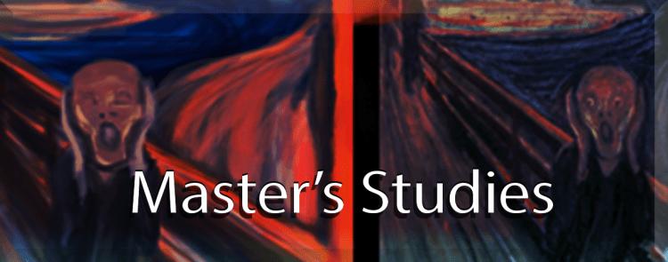 Mastersstudies