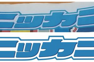 Illustratorで作成した日刊スポーツのロゴ