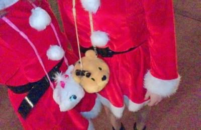 新橋いちゃキャバ・JK制服キャバクラ【ハイスクールbanana】 あめ サンタ衣装