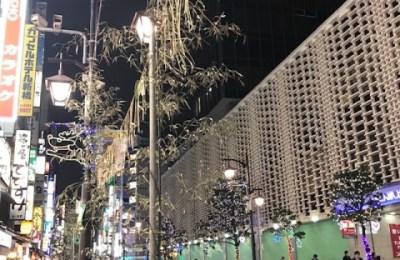 新橋いちゃキャバ・JK制服キャバクラ【ハイスクールbanana】 かな 新橋のクリスマスイルミネーション