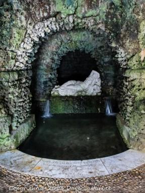 Ariadne, Stourhead Grotto.