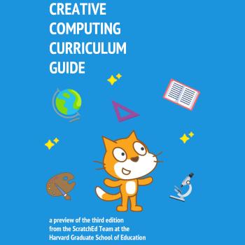 Portada del Creative Computing Curriculum Guide