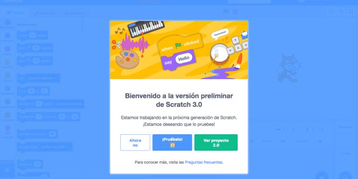 ¿Cómo probar Scratch 3.0 online?