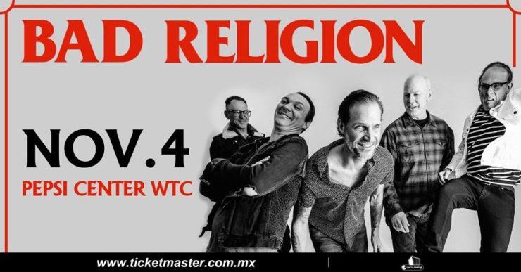 Bad Religion 4 de noviembre
