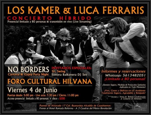 Los Kamer No Borders Hilvana