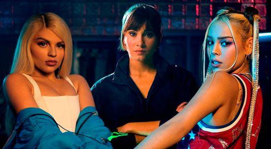 """Foto de Luisa Sonza, Aitana y Dana Paola para el videclip de """"Friends de semana"""""""