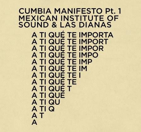 """Portada de """"A ti que te importa"""" del Instituto Mexicano del Sonido & Las Dianas."""