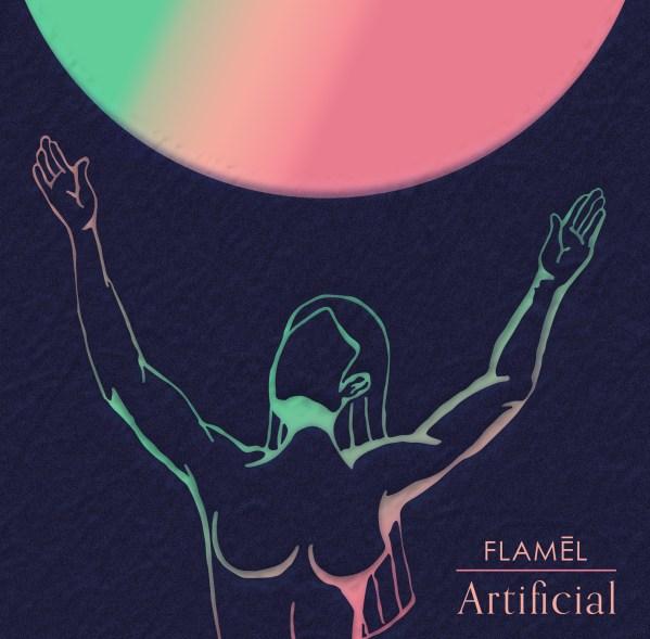 """Portada de """"Artificial"""", el nuevo senciilo de Flamél"""