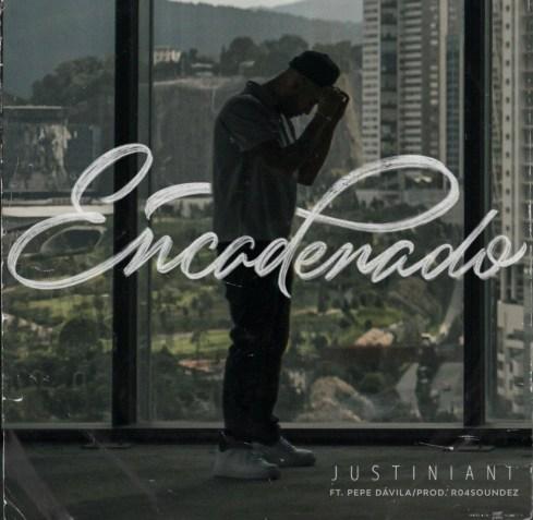 """Portada de """"Encadenado"""" el nuevo sencillo de Justiniani."""