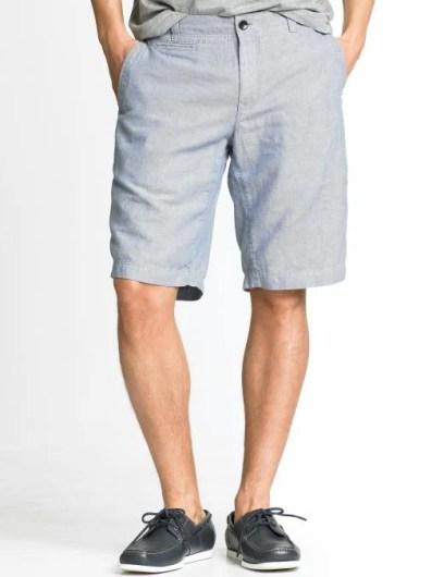 Banana Republic Cotton/linen pocket tall short