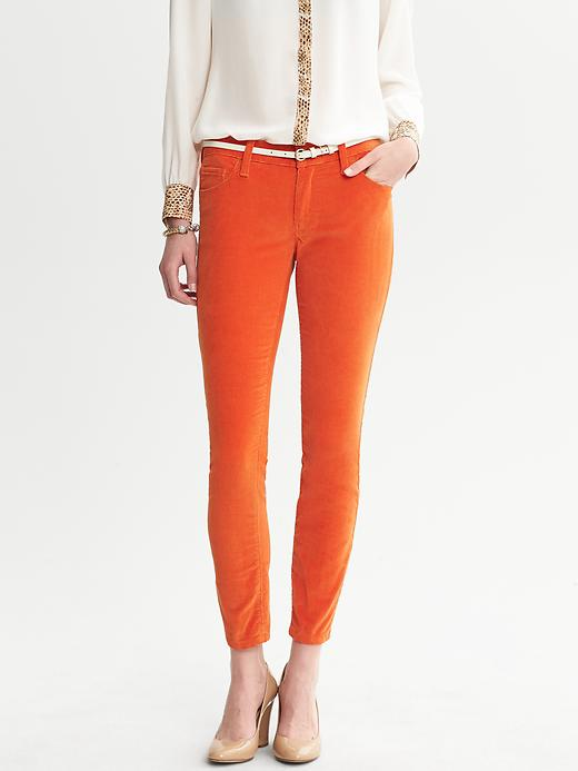 Banana Republic Skinny Ankle Cord - Winter orange