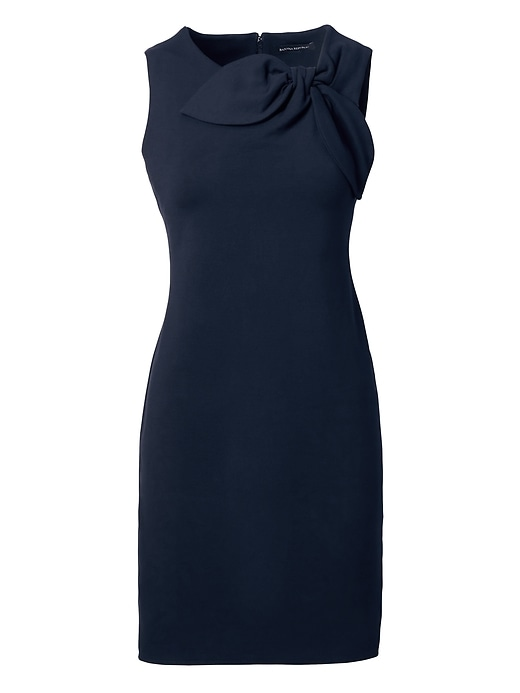 Banana Republic Bow Neck Ponte Sheath Dress