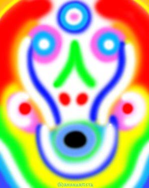 """""""LO STREGONE"""" - (b)ananartista orgasmo Sbuff - digital art - www.bananartista.com"""