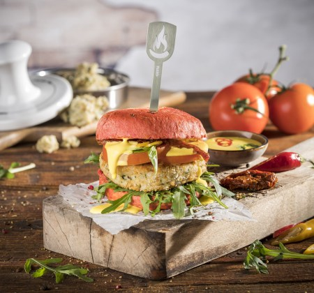 Vegane Risotto-Burger