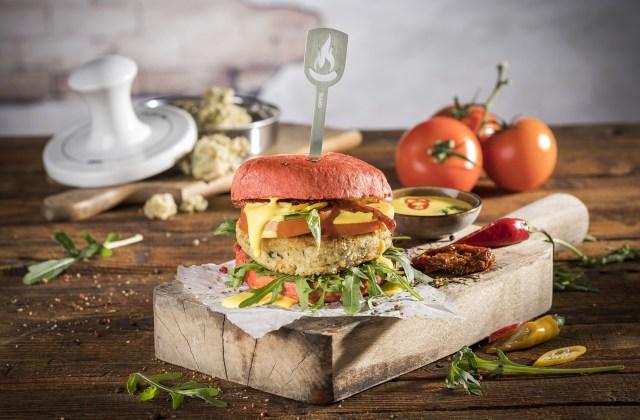 Leichte Sommerküche Pfiffig Und Schnell : Vegane risotto burger bananenschneckerl