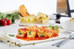 Cannelloni mit Kürbis-Mangold-Füllung