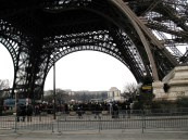 I left the extremely dense tourist area almost immediately. There was no point loiterng unless you intend to mount the Tour Eiffel.