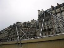 Pyramids near the Paris Hôtel de Ville, or City Hall.