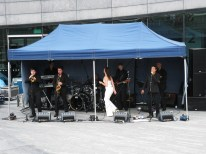 Open-air concert with some great musicians!