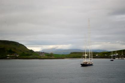 On the way from Oban to Mull