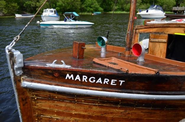 A boat named Margaret