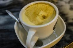 Cafe trứng (egg coffee)