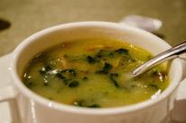 Caldo verde, kale soup