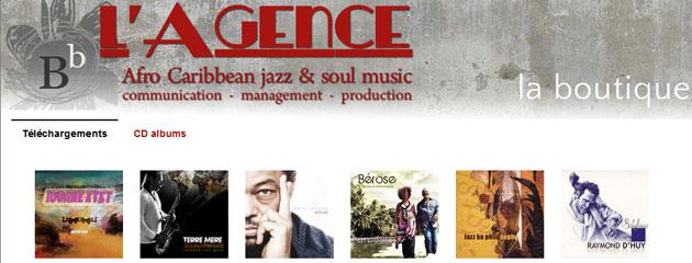 la boutique jazz créole sur BandCamp