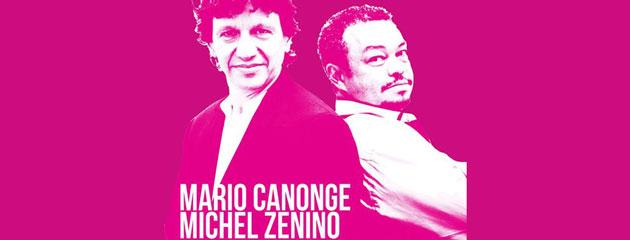 Mario Canonge et Michel Zenino