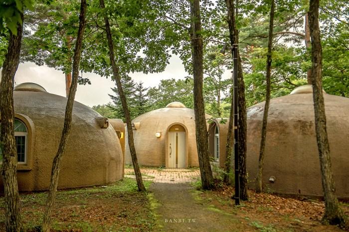 福島住宿推薦 Angel Forest那須白河:天使森林圓頂小屋,住在童話書裡看夜晚滿天星空